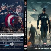 Captain America The Winter Soldier (2014) R1 CUSTOM DVD COVER