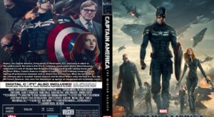 Captain America The Winter Soldier dvd cover