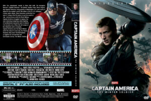 Captain America The Winter Soldier Custom Cover(Pips)