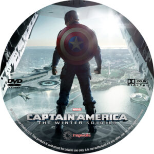 Captain America- The Winter Soldier Custom Label (Pips)