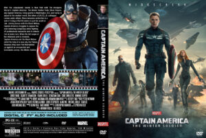 Captain America The Winter Soldier V2 Custom Cover(Pips)