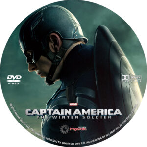 Captain America- The Winter Soldier V2 Custom Label (Pips)
