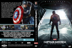 Captain America The Winter Soldier V3  Custom Cover(Pips)