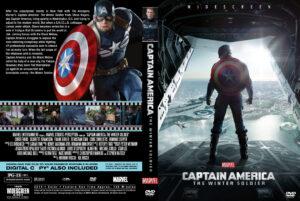Captain America The Winter Soldier V3  Custom Cover(Pips)