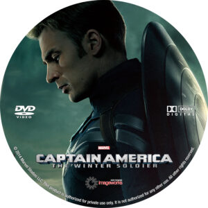 Captain America- The Winter Soldier V4 Custom Label (Pips)