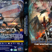 Captain America: The Winter Soldier (2014) R0 Custom DVD Cover