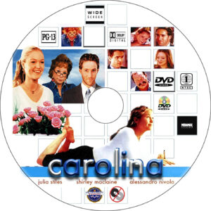 carolina dvd label