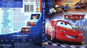 Cars Blu-Ray DVD Cover