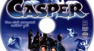 casper dvd label