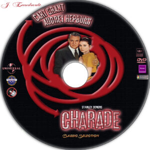 Charade dvd label