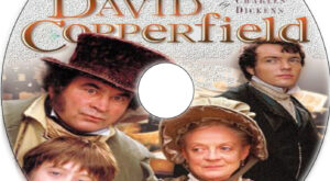 David Copperfield dvd label