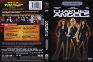 Charlies Angels - Superbit R1 dvd cover