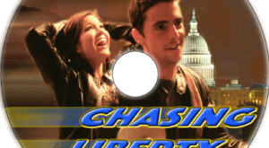 Chasing Liberty dvd label