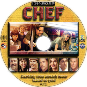 chef dvd label