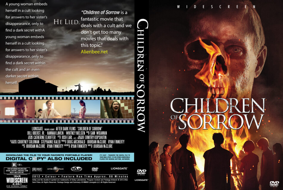 Children of Sorrow dvd cover