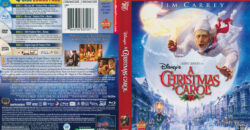 A Christmas Carol 3D blu-ray dvd cover