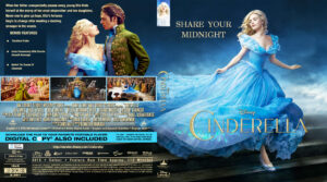 Cinderella blu-ray dvd cover