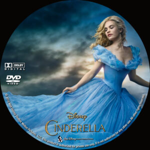 Cinderella Custom Label