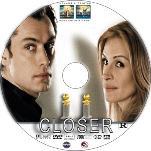 closer dvd label