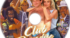 Club Paradise dvd label