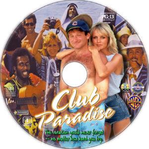 Club Paradise dvd label