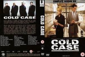 cold case season 6 dvd cover