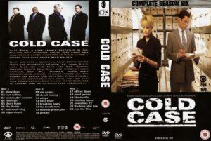 cold case season 6 dvd cover