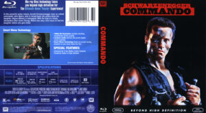 Commando (Blu-ray) dvd cover