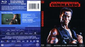 Commando (Blu-ray) dvd cover