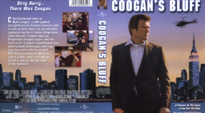 Coogan's Bluff dvd cover