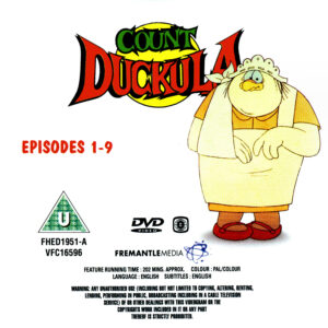 Count Duckula S1 - R2 Disc 1