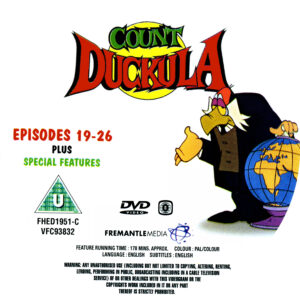 Count Duckula S1 - R2 Disc 3