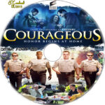 Courageous (2011) R1 Custom Label