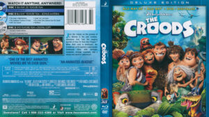 Croods, The (Blu-ray) 3D dvd cover
