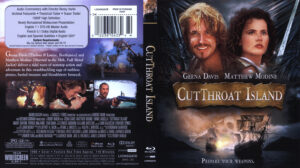 CutThroat Island (Blu-ray) dvd cover
