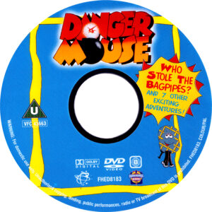 Danger Mouse - Who Stole The Bagpipes Disc