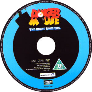 Dangermouse - The Great Bone Idol Disc