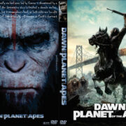 Dawn of the Planet of the Apes (2014) Custom DVD Cover