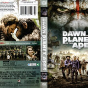 Dawn of the Planet of the Apes (2014) R1 DVD Cover