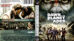 Dawn of the Planet of the Apes dvd cover