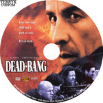 Dead-Bang (1989) Custom DVD Label