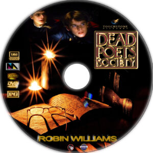 Dead Poets Society dvd label