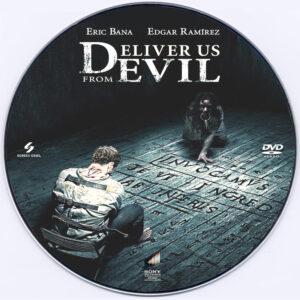 Deliver Us from Evil dvd label