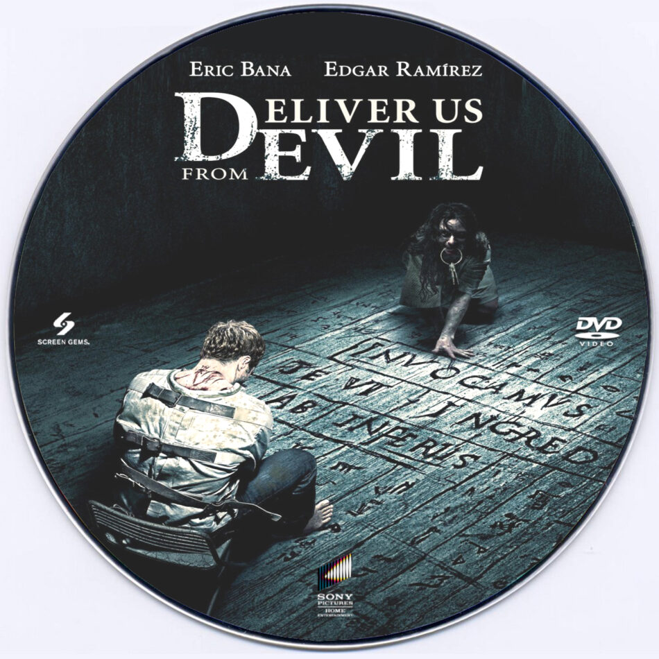 Deliver Us from Evil dvd label