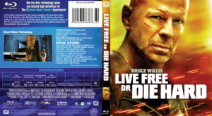 Die Hard 4 Live Free Or Die Hard (Blu-Ray) dvd cover