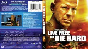 Die Hard 4 Live Free Or Die Hard (Blu-Ray) dvd cover