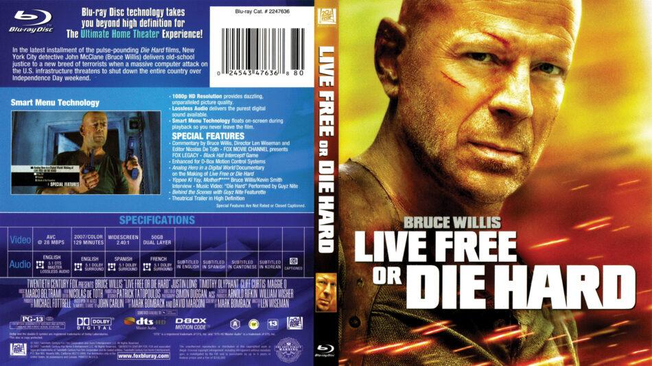 Die Hard 4: Live Free or Die Hard (Blu-ray Disc, 2009) for ...