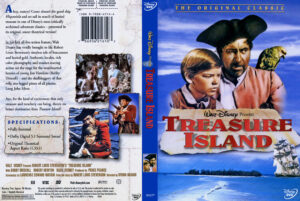 Disney's Treasure Island dvd cover