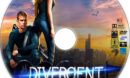 Divergent (2014) R1 Custom DVD Label