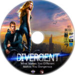 Divergent (2014) R1 Custom DVD Label